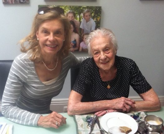 Agnes and Marina in Adelaide, 2015