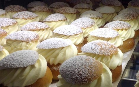 Swedes indulge in Semla buns